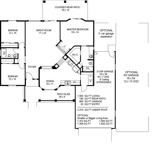 Palo verde iii dbu homes for Palo verde homes floor plans