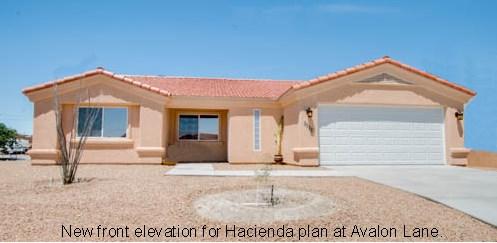 Avalon Ln front Hacienda model w text